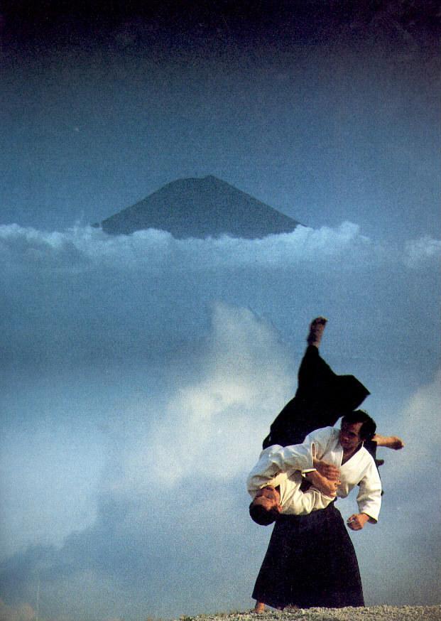 Tamura Senseï et le Mont Fuji