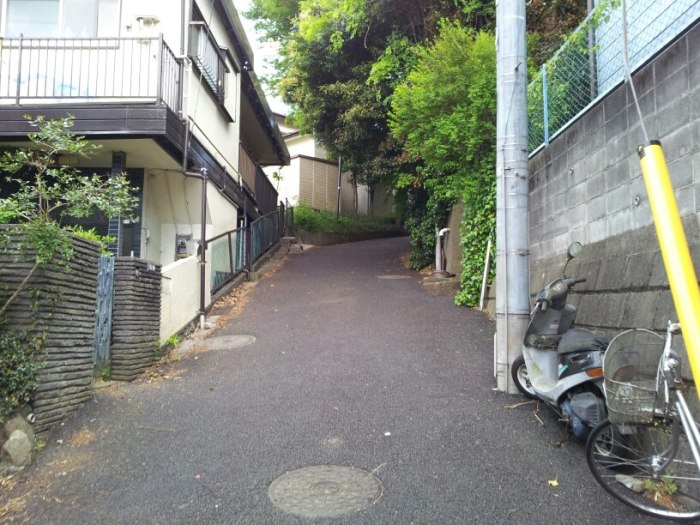En route pour le cours avec Kono Senseï