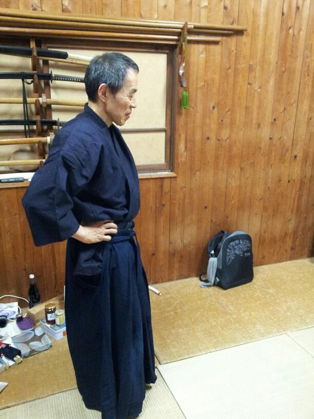 Visite chez Kono Yoshinori Senseï