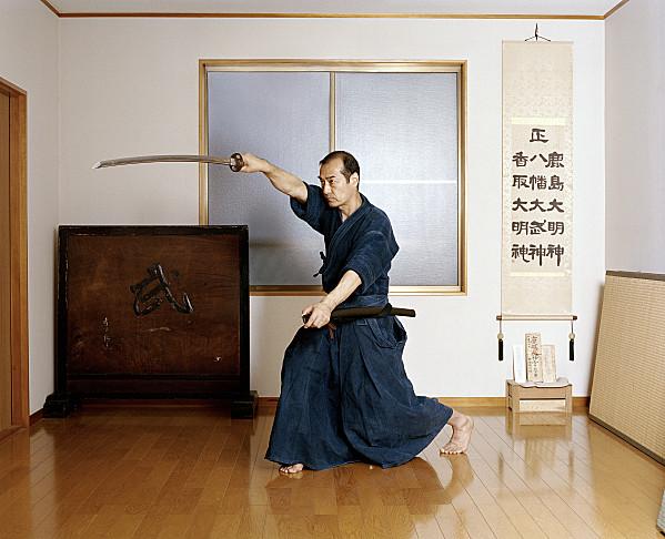 Kuroda Senseï, photo de Frédérick Carnet