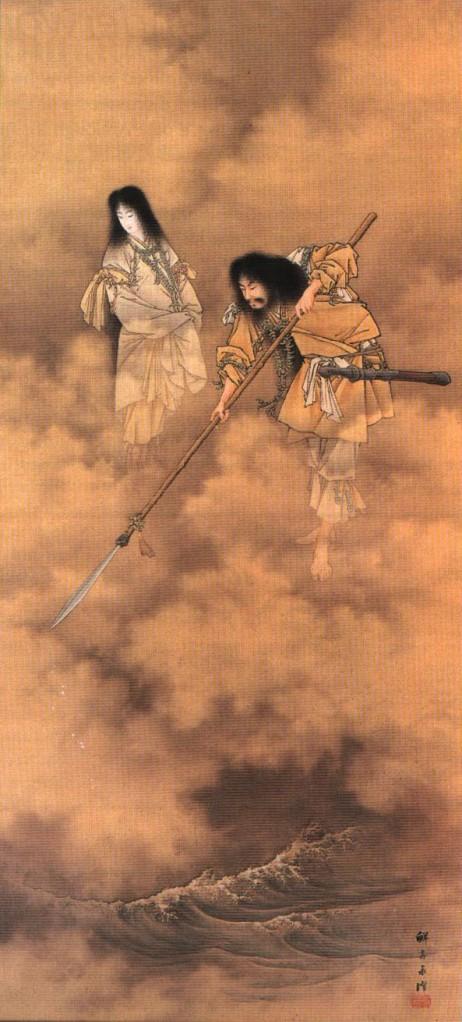 Kojiki-Izanagieizanami-1