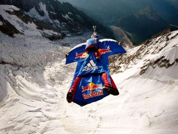 Pratique du Wingsuit