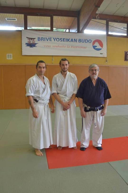 Avec Léo Tamaki et Jean Luc Dureisseix