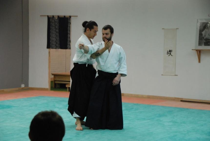Tanguy Le Vour'ch et Léo Tamaki