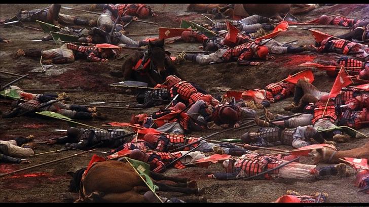 """Image tirée du film """"Ran"""" de Akira Kurosawa"""