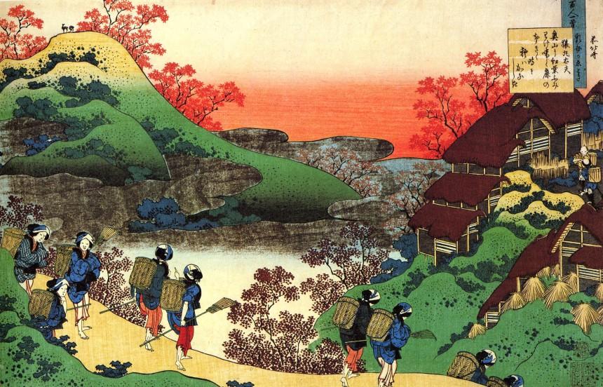 Estampe par Hokusaï