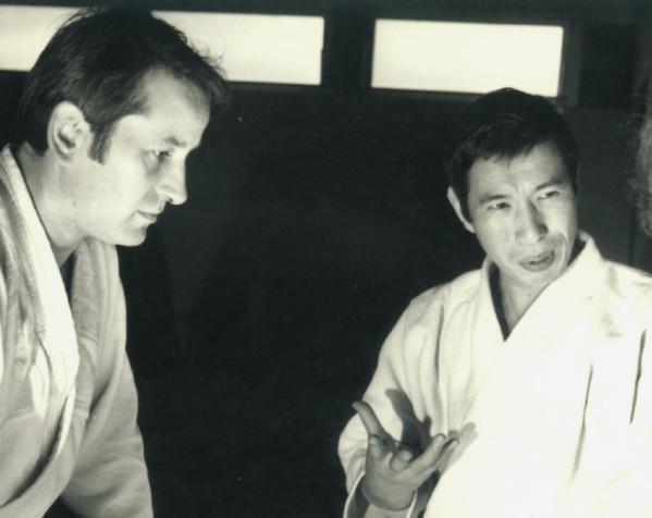 Noro Masamichi en compagnie de Daniel Martin