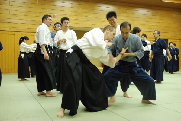 Julien avec Kuroda Senseï