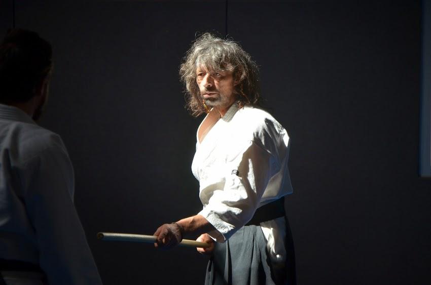 Pascal du club d'aïkido de Saint Yrieix La Perche, photo de Shizuka Tamaki