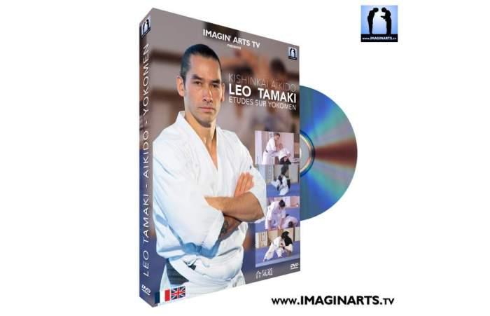 leo-tamaki-aikido-yokomen-dvd-video