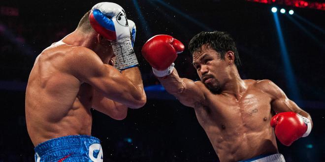 Victoire aux points de Manny Pacquiao face à Chris Algieri