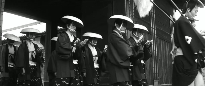 samourai-smartphone-parade