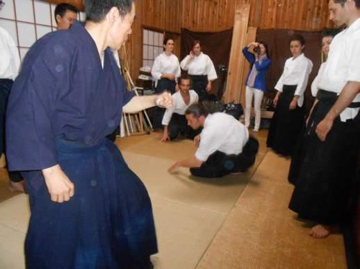 Cours privé avec Kono Yoshinori