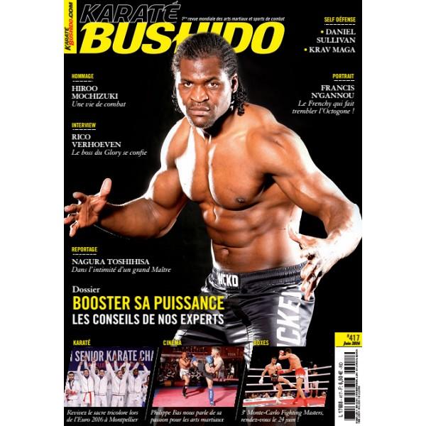 karaté bushido 2016