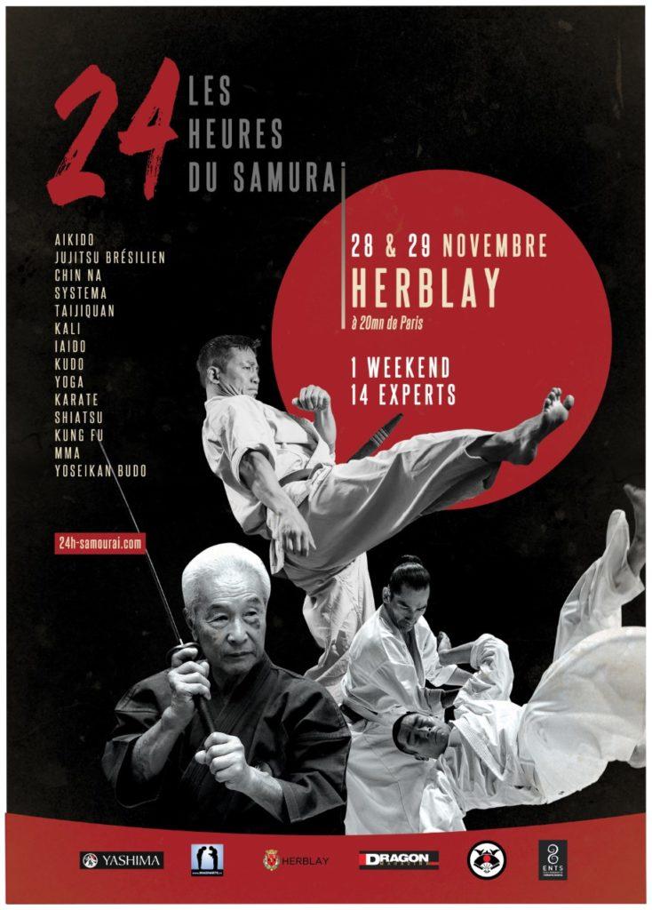 Les 24 heures du samouraï: les 28 & 29 novembre 2020 à Herblay